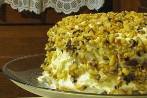 Carrot Pineapple Cake (My Birthday Cake)