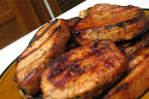 Coffee Marinated Pork Chops