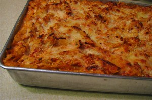 Baked Four Cheese Penne Pasta
