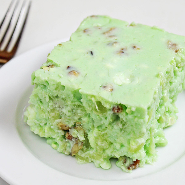 Grandma S Lime Green Jello Salad Recipe With Cottage Cheese Pineapple Home Cooking Memories