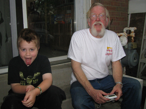 My Dad and Mattie