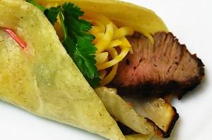Sports Bar Grilled Steak Tacos