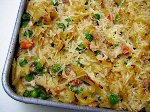Tuna Noodle Casserole (with no canned soup)