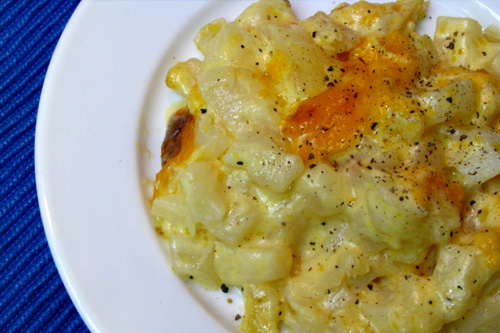 Cheesy Potato Casserole (or Funeral Potatoes)