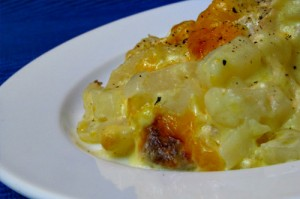 Cheesy Potato Casserole Recipe + Ham Review