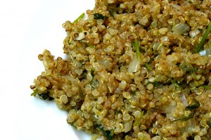 Quinoa with Latin Flavors – First Time Cooking Quinoa