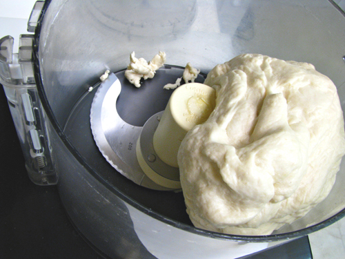 Basic pizza dough recipe made in food processor home cooking very forumfinder Gallery