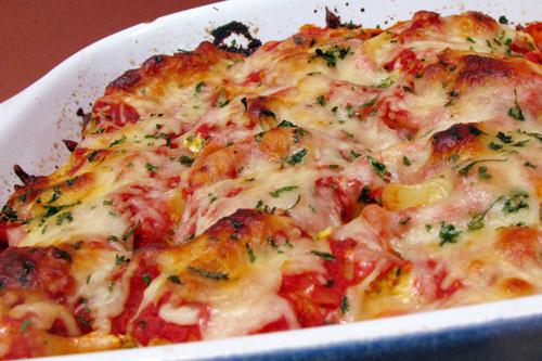 Broccoli and Cheese Stuffed Pasta Shells