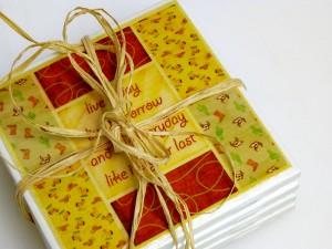 Tutorial: Make Tile Coasters for Beverages