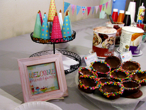 Ice Cream Sundae Party (with Tequila Caramel Sauce