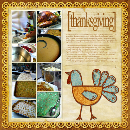 Ways to preserve thanksgiving memories home cooking