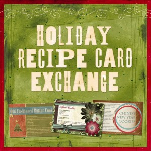 Holiday Recipe Card Exchange 2011