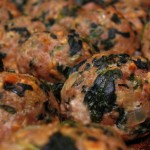 Baked Turkey Meatballs with Spinach + 10 Ways to Use Meatballs