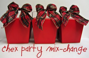 Host a Chex Party Mix-Change Giveaway!
