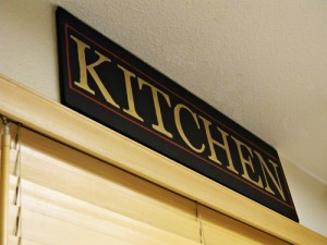 Kitchen Sign Craft Project + Elmer's Giveaway