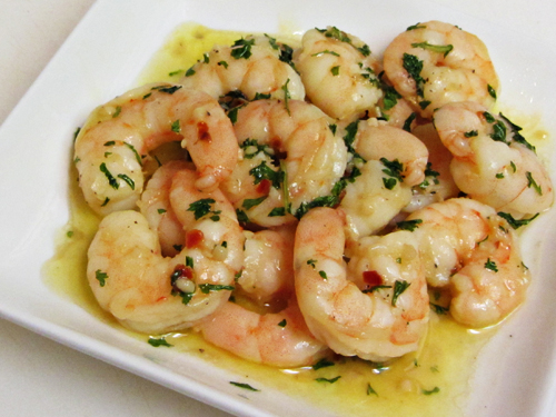 Shrimp Scampi (accompaniment to Prime Rib holiday dinners) - Home ...