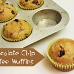 Chocolate Chip-Coffee Muffins