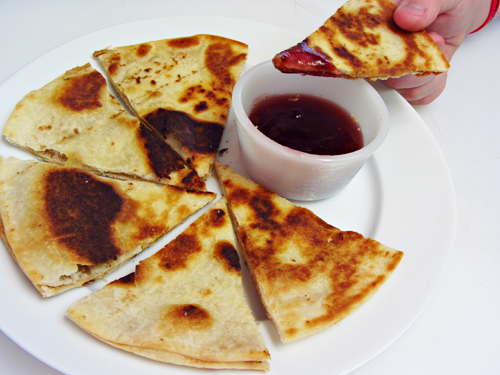 Peanut Butter & Jelly Quesadillas
