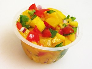 Fruit Cup Salsa (fruit salsa in individual cups)