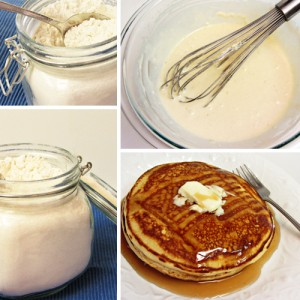 Make Your Own Homemade Pancake Mix