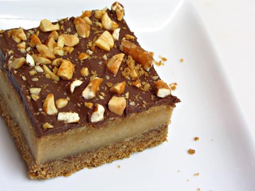 Peanut Butter Pretzel Cheesecake Bars