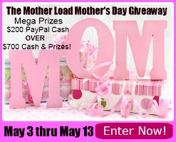 HUGE Mother's Day Giveaway (May 3-13)