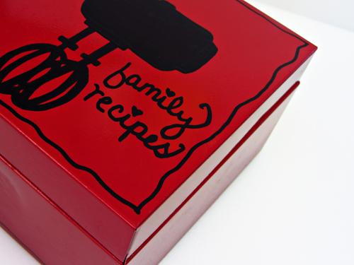 elmers painters paint pens recipe box