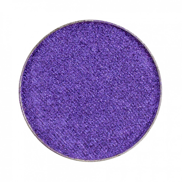 Caitlin Rose Foiled Eyeshadow Pan by Makeup Geek. A bright amethyst purple with a foiled finish. 100% of the net proceeds from the sale of this shadow benefit the Batten Disease Support & Research Association.
