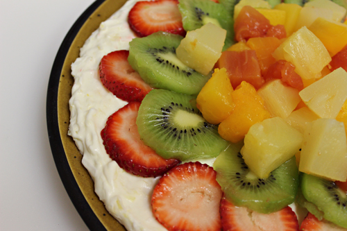 Dole Tropical Coconut Pizza