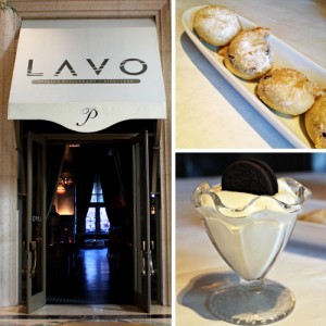 Fried Oreo Zappole at Lavo (Las Vegas)
