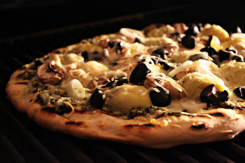 Grilled Food Photography Grilled Pizza
