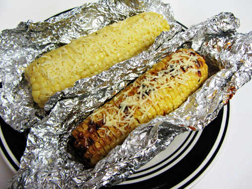 Parmesan Roasted Corn On The Cob Recipe — Dishmaps
