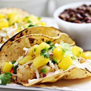 Baked Tilapia Fish Tacos Recipe