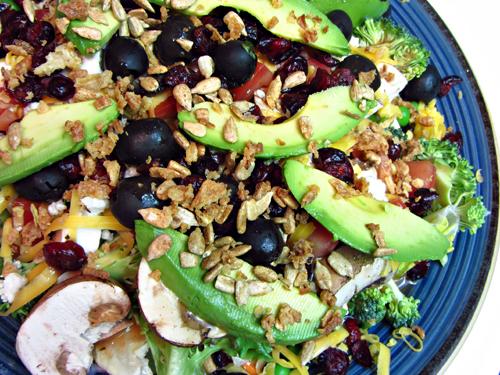 DIY-Salad-Bar-at-Home Dinner Salad