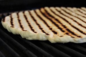 Grilled Food Photos - Close-Up of Grilled Pizza Crust