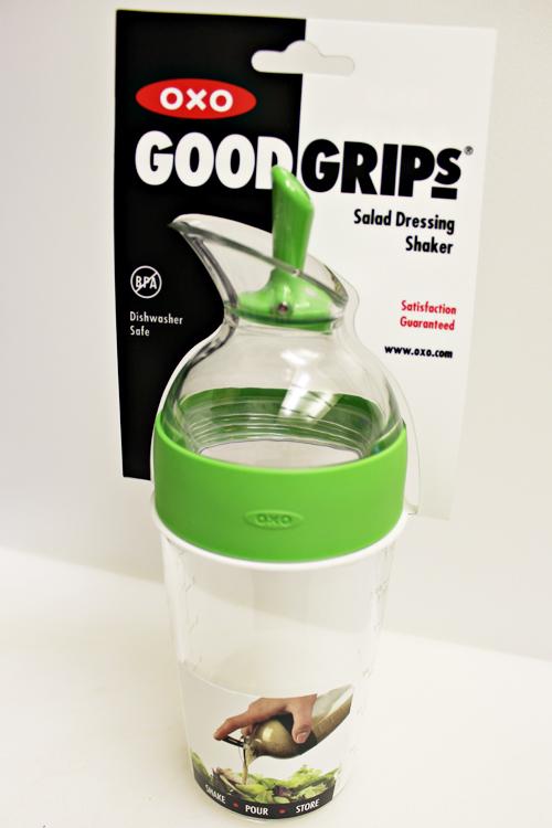 oxo salad dressing shaker home cooking memories. Black Bedroom Furniture Sets. Home Design Ideas