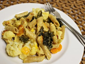 Veggie Loaded Pasta Bake