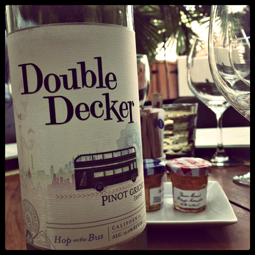 Wente Wines Double Decker Pinot Grigio