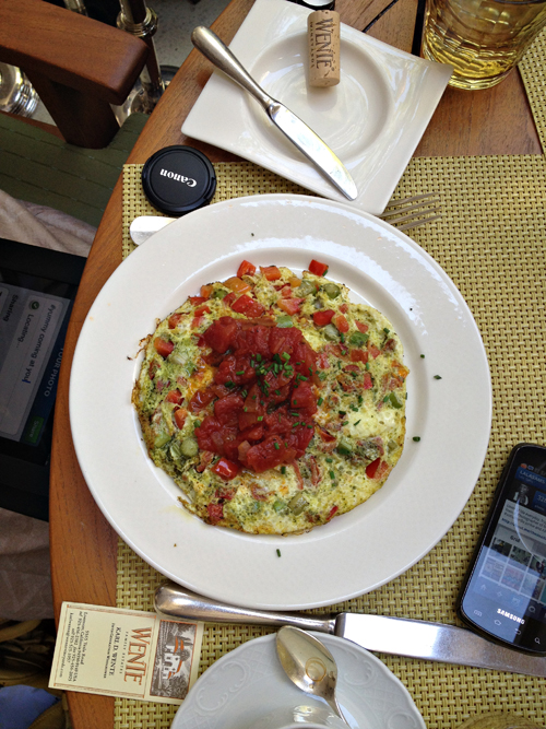 Egg White Frittata at Verandah in Four Seasons Hotel Las Vegas