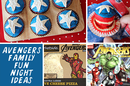 Avengers Family Fun Night Ideas Marvelavengerswmt Home Cooking