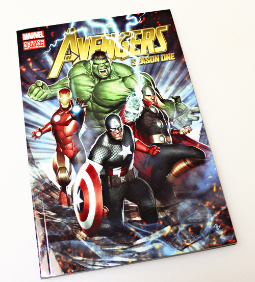 Avengers Limited Edition Graphic Novel