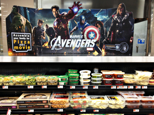 Avengers Marketside Pizza at Walmart