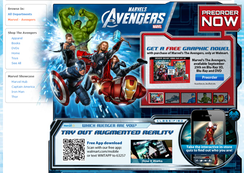 Download Avengers Augmented Reality App