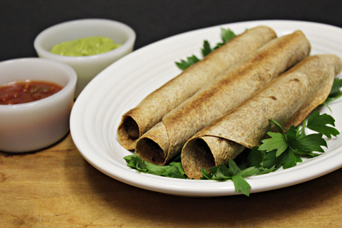 Baked Flautas by Home Cooking Memories