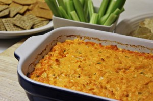 Buffalo Chicken Dip { Tailgating Food }