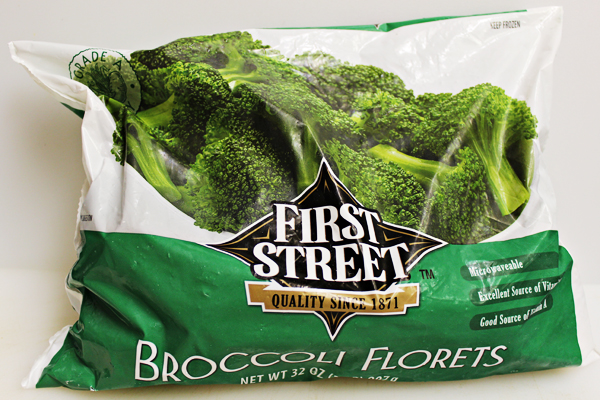 Smart and Final First Street Broccoli Florets