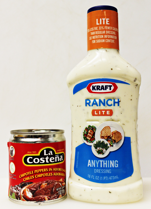 Ingredients for Chipotle Ranch Dip