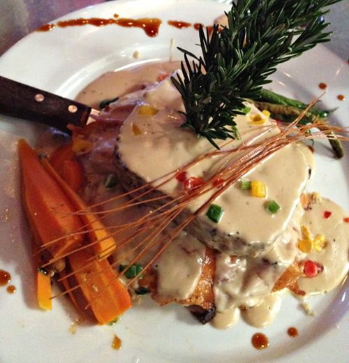 Hash House A Go Go   Stuffed Meatloaf