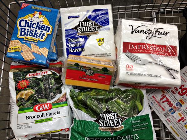 Cheesy Broccoli Casserole Shopping at Smart & Final