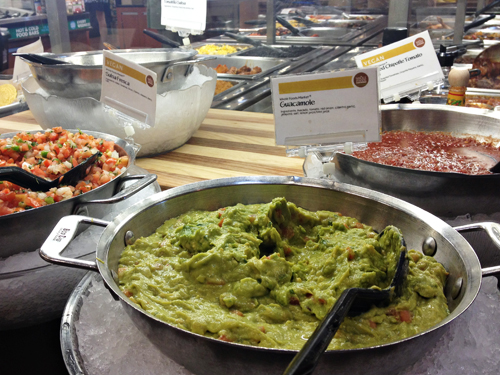 Whole Foods Salad Bar - Guacamole